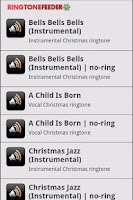 Screenshot of Greatest Christmas Ringtones
