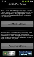 Screenshot of AndModPlug Demos