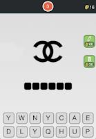 Screenshot of Logos Quiz - Fashion Free fun
