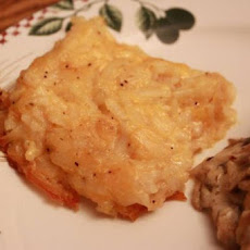 Barrel of Crackers Hash Browns Casserole - Copycat