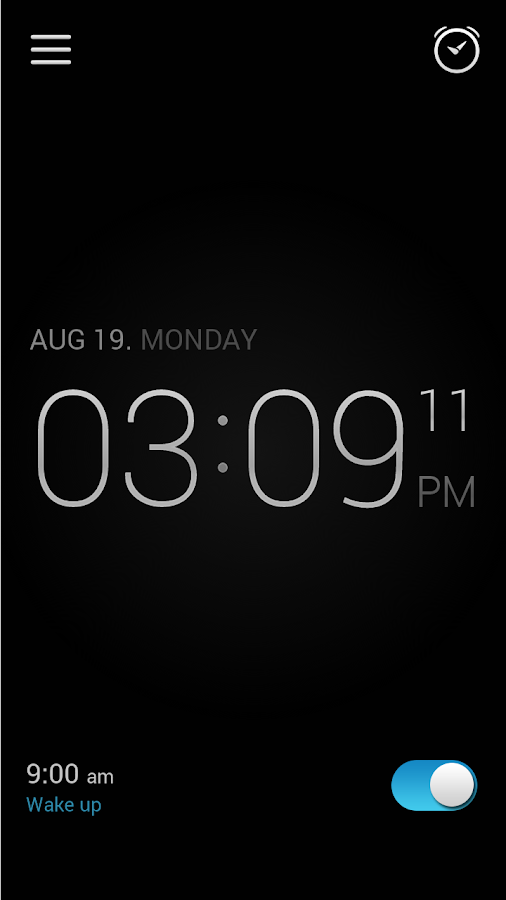 Alarm Clock Screenshot 1
