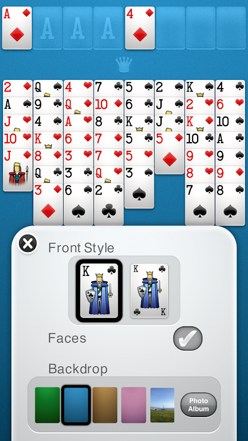 FreeCell Solitaire+ Screenshot 3