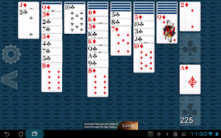 Screenshot of Yukon Solitaire HD