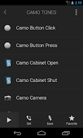 Screenshot of Camo Tones - Secret Ringtones