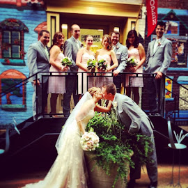 So cute!!!! I love my job!! by Julie Dabour - Wedding Groups ( weddings, weddingday, weddingphotography, easton, pennsylvania, brideandgroom, weddingparty, weddingpictures )