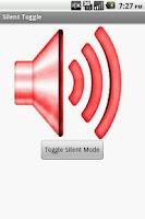 Screenshot of Silent Toggle Widget
