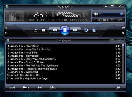 cd audio title listing