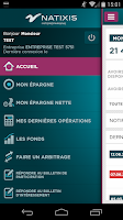 Screenshot of Mon Epargne Salariale