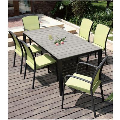 Acheter table de jardin country chaponost chez jardin for Acheter table de jardin