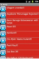 Screenshot of RJ Balaji