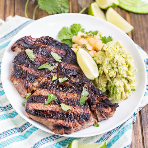 Grilled Rib-Eyes With Chile-Lime-Tequila Butter Recipes — Dishmaps
