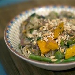 Thai Peanut Noodle Stir Fry Recipes