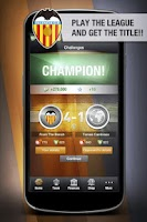 Screenshot of Valencia CF FantasyManager '14