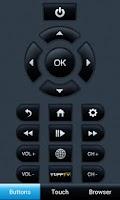 Screenshot of YuppTV Remote