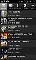 Screenshot of Black Note Club