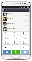 Screenshot of ExDialer SGS4 Light Theme