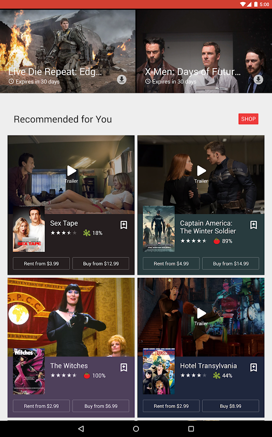 Google Play Movies & TV Screenshot 7