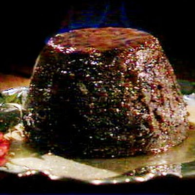 Delia's Classic Christmas pudding with Brandy Sauce