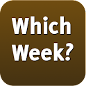 Which week is it? icon