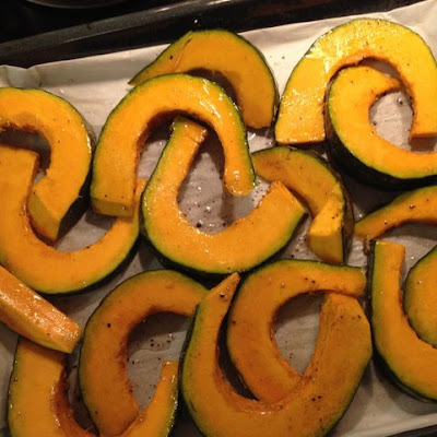 Roasted Kabocha Squash