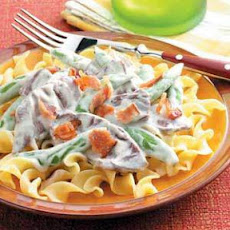 Blue Cheese Stroganoff