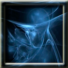 Animated Blue Smoke LWP icon