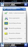 Screenshot of PostePay Mobile