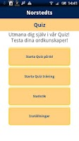 Screenshot of Norstedts svenska quiz