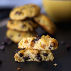 Coconut Flour Chocolate Chip Cookies (Grain-free)