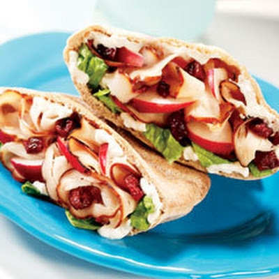 Turkey Waldorf Pitas