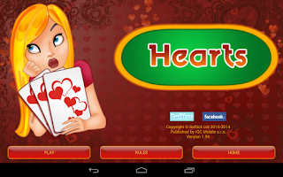 Screenshot of Hearts Deluxe