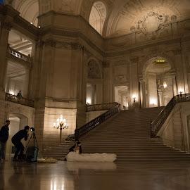 City Hall Wedding by Ryan Leung - Wedding Other ( wedding, inside, low )