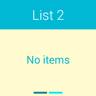 Tickit for Android Wear - screenshot