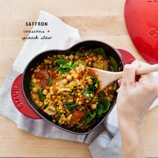 Garlic Saffron Couscous Recipes
