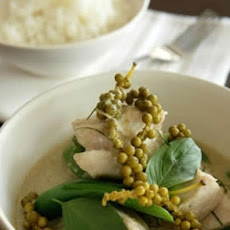 Thai Green Curry With Green Peppercorns