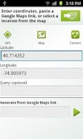 Screenshot of QR-GPS Plugin™