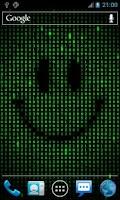 Screenshot of Digital Smile Live Wallpaper