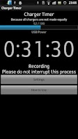 Screenshot of Charger Timer