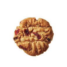 Cranberry-Oat Peanut Butter Cookies