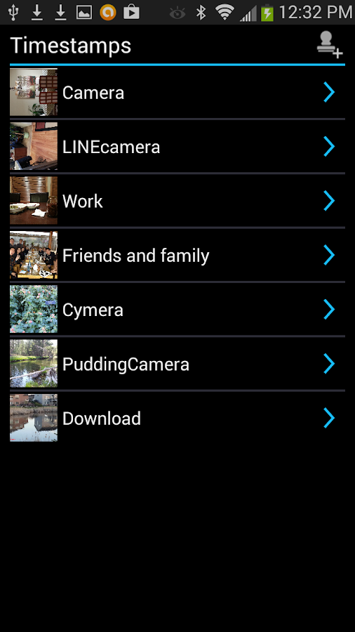 Camera Timestamp Add-on Screenshot 2