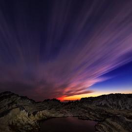 Armagedon by Nyoman Sundra - Landscapes Sunsets & Sunrises ( clouds, arasaki, sunset, kanagawa, landscape )