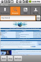Screenshot of RSS Fuse
