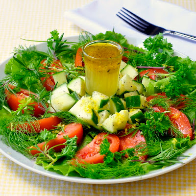 Lemon Honey Salad Dressing