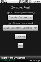 Screenshot of Zombie, Run!