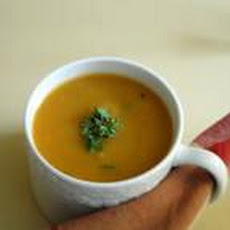 Chestnut and Butternut Squash Bisque (Vegan)