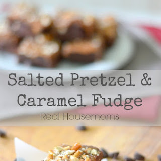 Salted Pretzel & Caramel Fudge