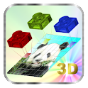 Mosaic DIY 3D icon
