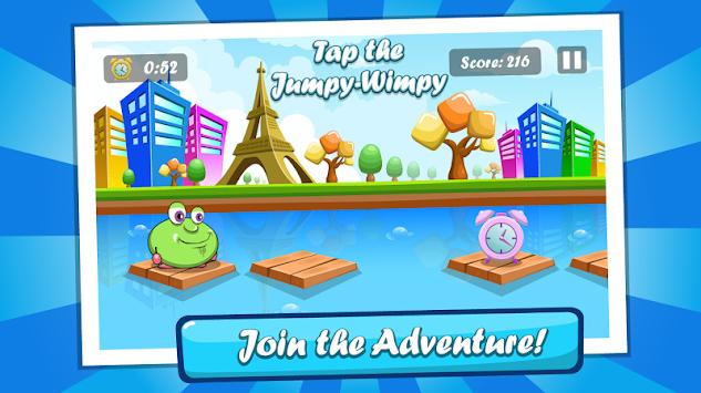 Tap Jumpy Wimpy apk screenshot
