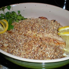 Baked Opakapaka (Snapper) Fillets With Macadamia Crust