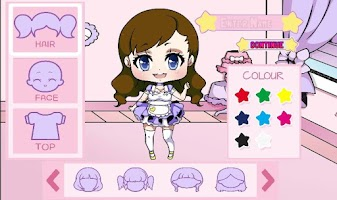 Screenshot of Dress Up Girl Kawaii Edition